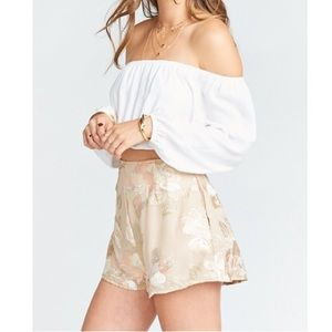 SHOW ME YOUR MUMU Very Fairy Floral Sawyer Shorts